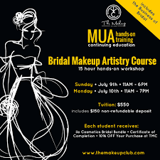 Makeup Artistry Certification Bridal Makeup Artistry Course Tickets Sun Jul 9 2017 At 11 00