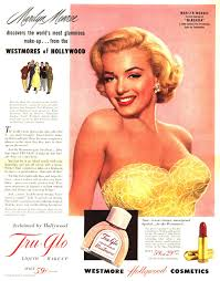 Makeup Artist Handbook Tru Glo Makeup With Marilyn Monroe C 1953 Hair And Makeup