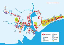 Marathon Route Map by Stanchart Marathon S U0027pore New Route To Separate Half Marathon