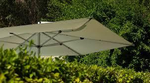 Wind Resistant Patio Umbrella Acrylic Fabric Patio Umbrella Aluminum Stainless Steel Wind