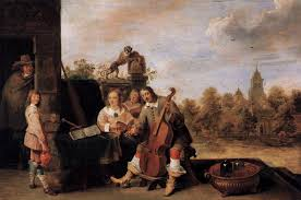 the painter file david teniers ii the painter and his family wga22077