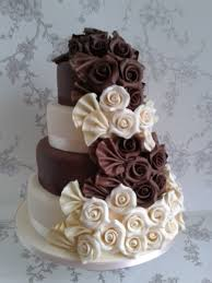 chocolate wedding cakes chocolate and white wedding cakes idea in 2017 wedding