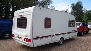 5 Berth Caravan With Awning Swift Charisma 540 5 Berth Caravan 2006 Awning Vgc Bargain At A