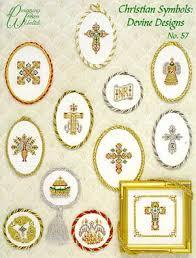 designing christian symbols designs cross stitch