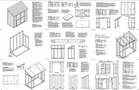 Free Wooden Storage Shed Plans by Need Shed Plan Free 8 X 6 Lean To Shed Plans Lean To Sheds