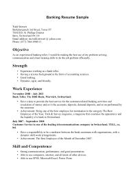 good resume for bank teller for resignation letter