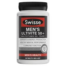 men s buy swisse men s ultivite 50 90 tablets online at chemist warehouse
