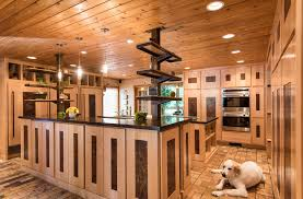 maple and steel kitchen cabinets set design standard in johnston home