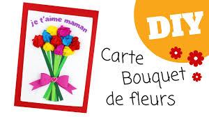 Fleurs Pour Fete Des Meres Bricolage Fête Des Mères Cadre Bouquet De Fleurs Diy Tutoriel