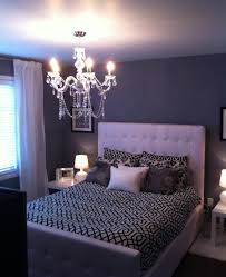 bedroom luxurious combination of grey and white concept with