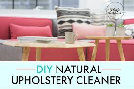 Homemade Upholstery Shampoo Diy Natural Upholstery Cleaner For Leather General Fabrics U0026 Car