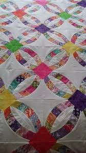wedding ring quilt for sale yellow wedding ring quilt www shop thequiltladies a