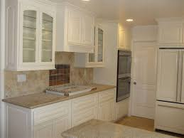 kitchen clear glass kitchen cabinet door decor with white small