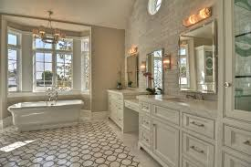 elegant bathroom vanity with makeup station and double vanity with