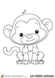 117 dessins de coloriage singe à imprimer