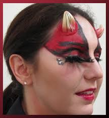 glitter devil halloween makeup looks google search devil