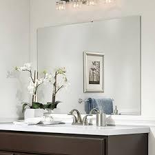 Framing Existing Bathroom Mirrors Mirror Frame Ideas Bathroom Mirror Ideas