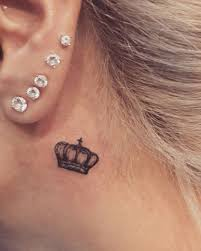 the 25 best behind ear tattoos ideas on pinterest ear tattoos