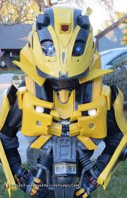 transformers halloween costumes coolest homemade bumblebee transformers costumes