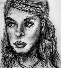 face charcoal 2 by sianani on deviantart