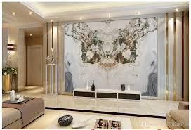 livingroom wallpaper high quality custom 3d wallpaper murals jade marble landscape stone