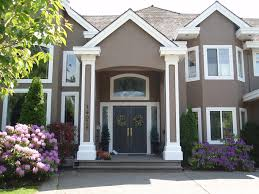 The Inner Of Beautifully Painted Houses Nice House Color Schemes Exterior Exterior Designs Aprar