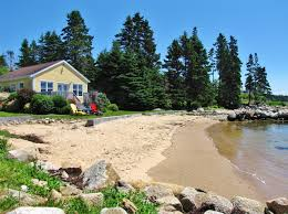 Cottage Rentals Ns by Oceanfront Cottages Nova Scotia Lighthouse Route Lucking U0027s Meadow