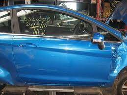 used ford fiesta door 2 door right color code pn4cz0 1806117