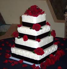 50 best red and black wedding cakes images on pinterest black