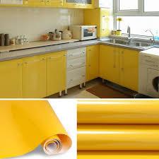 stickers meuble cuisine rouleau de 5m auto adhésif stickers de cabinet cuisine étanche