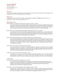 tour guide resume resume for your job application