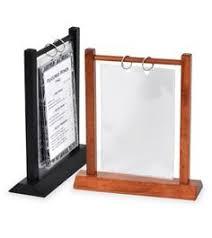 restaurant table top display stands menu stands restaurant table tents table stands and card holders