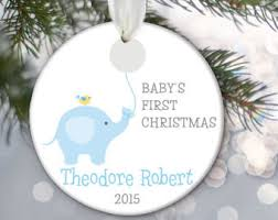 baby s ornament elephant baby ornament