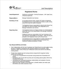 Rn Job Description Resume Nicu Nurse Job Description 2 Introduction Job Description O