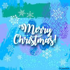 merry christmas artistic creative universal card hand drawn