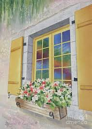 window flower box paintings page 5 of 12 fine art america