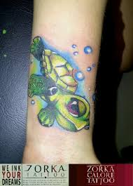 cute turtle by zorka calore tattoo by surfboyz12 on deviantart