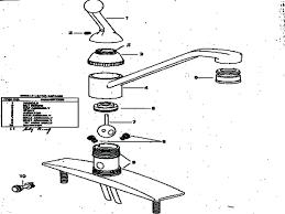 moen kitchen faucet repair manual moen kitchen faucet single handle adaptor repair kit lever
