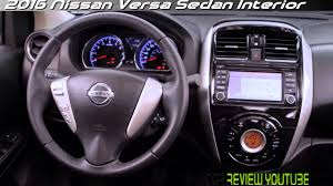 nissan sedan 2016 interior 2017 nissan versa sedan youtube
