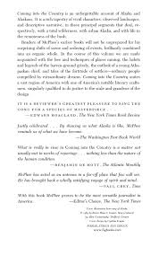 spirit of halloween anchorage alaska coming into the country john mcphee 9780374522872 amazon com books