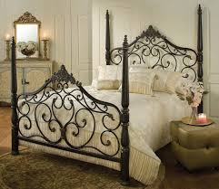 Sle Bedroom Designs Bedroom Iron Four Poster Bed Design With White Bed Cover And