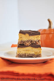 Pumpkin Food by Pumpkin Creme Bars Vegan And Gluten Free My Whole Food Life