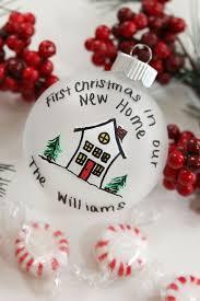 new home ornament chrismas 2017