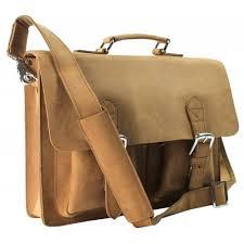 Cowhide Briefcase Vagabond Traveler 15