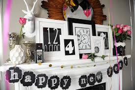 innovative front door home new year eve decor feat adorable black