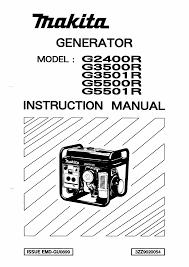 makita portable generator g5501r pdf user u0027s manual free download