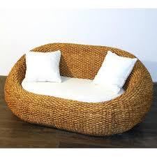 canap jonc de mer canapé sofa gentong jonc de mer 2 places