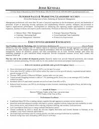 incredible marketing and sales resume resume format web