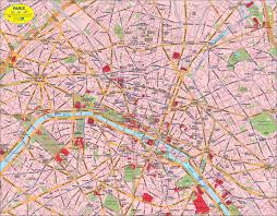 Maps Of Paris France by Map Of Paris Center France Map In The Atlas Of The World