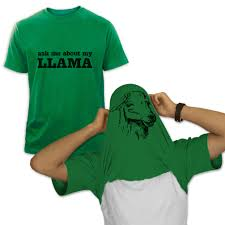 ask me about my llama t shirt funny greenturtle com
